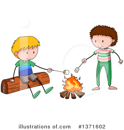 Campfire Clipart #1371602 by Graphics RF