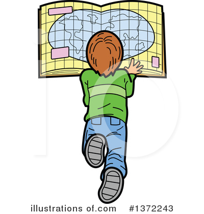 Student Clipart #1372243 by Clip Art Mascots