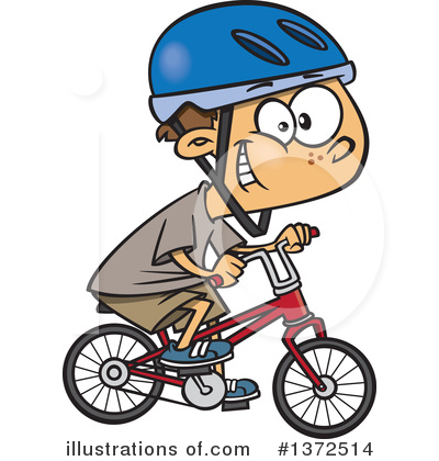 Bicycle Clipart #1372514 by toonaday