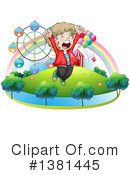 Boy Clipart #1381445 by Graphics RF