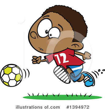 Soccer Clipart #1394972 by toonaday
