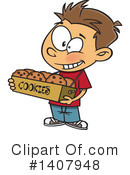 Boy Clipart #1407948 by toonaday