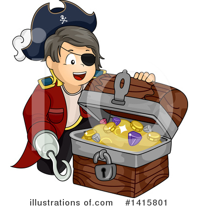 Pirate Clipart #1415801 by BNP Design Studio
