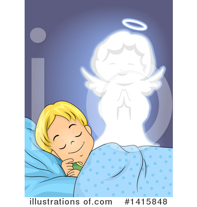 Guardian Angel Clipart #1415848 by BNP Design Studio