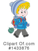 Boy Clipart #1433876 by Alex Bannykh