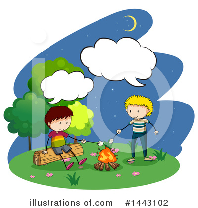 Campfire Clipart #1443102 by Graphics RF