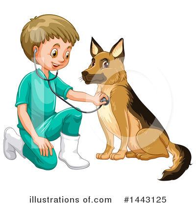 German Shepherd Clipart #1443125 by Graphics RF