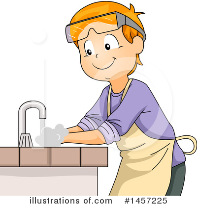 Hand Washing Clipart #1457225 by BNP Design Studio