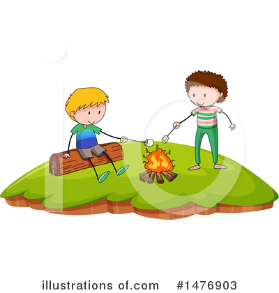 Campfire Clipart #1476903 by Graphics RF