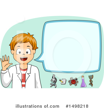 Scientist Clipart #1498218 by BNP Design Studio