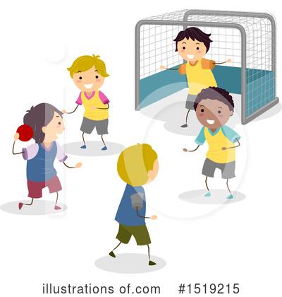 Handball Clipart 1358326 Illustration By Patrimonio