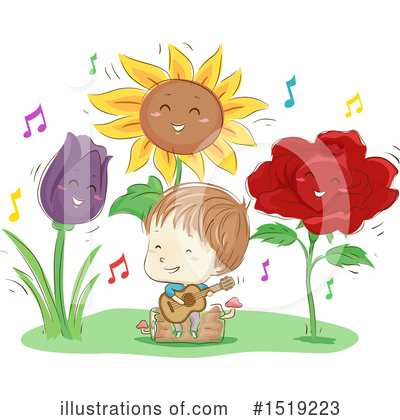 Sunflower Clipart #1519223 by BNP Design Studio