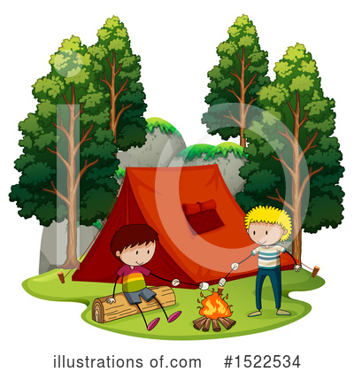 Campfire Clipart #1522534 by Graphics RF