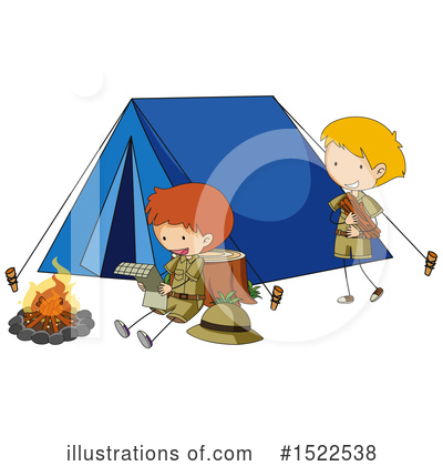 Campfire Clipart #1522538 by Graphics RF