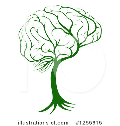Royalty-Free (RF) Brain Clipart Illustration by AtStockIllustration - Stock Sample #1255615