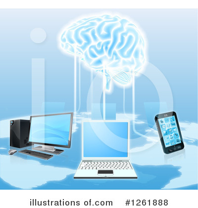 Brain Clipart #1261888 by AtStockIllustration