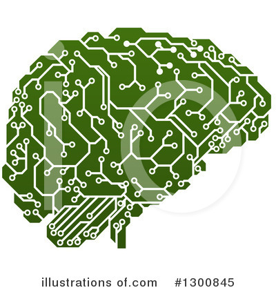Brain Clipart #1300845 by AtStockIllustration