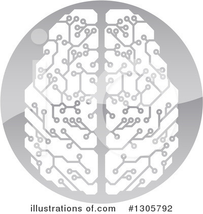 Brain Clipart #1305792 by AtStockIllustration