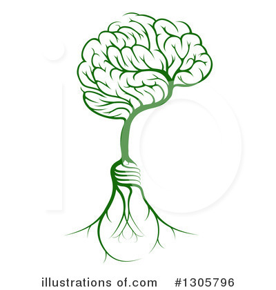 Brain Clipart #1305796 by AtStockIllustration
