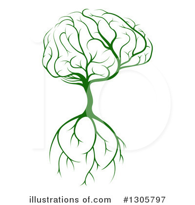 Brain Clipart #1305797 by AtStockIllustration