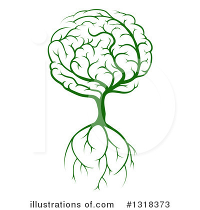 Brain Clipart #1318373 by AtStockIllustration