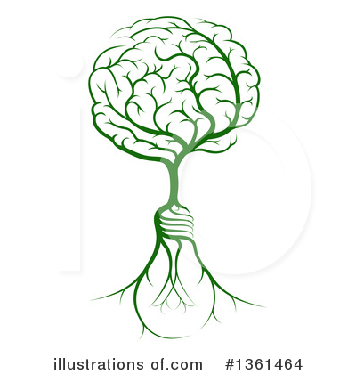Brain Clipart #1361464 by AtStockIllustration