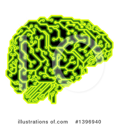 Brain Clipart #1396940 by AtStockIllustration