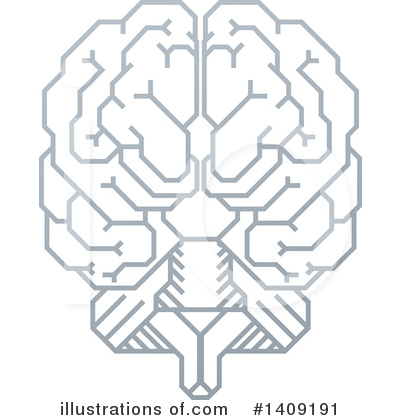 Brain Clipart #1409191 by AtStockIllustration