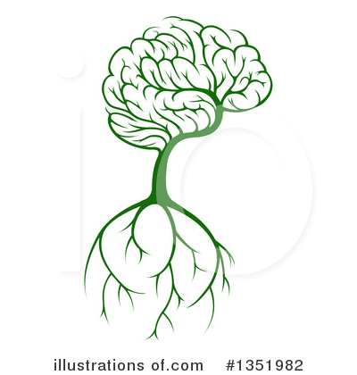 Brain Clipart #1351982 by AtStockIllustration