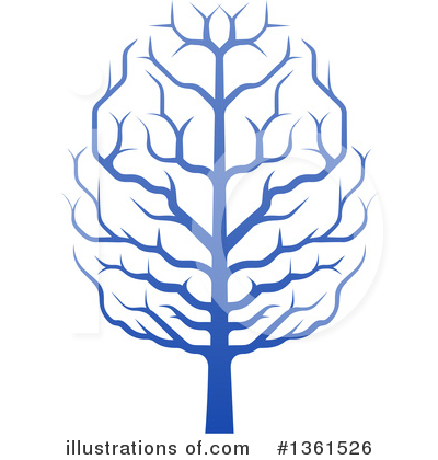Tree Clipart #1361526 by AtStockIllustration
