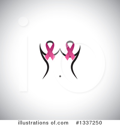 Breast Cancer Clipart #1337250 by ColorMagic