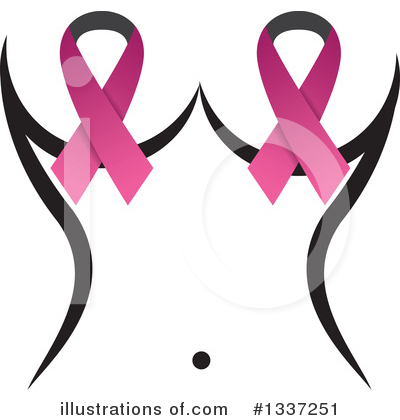 Breast Cancer Clipart #1337251 by ColorMagic