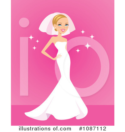 Wedding Clipart #1087112 by Monica