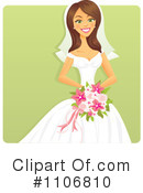 Bride Clipart #1106810 by Amanda Kate