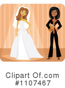 Bride Clipart #1107467 by Amanda Kate