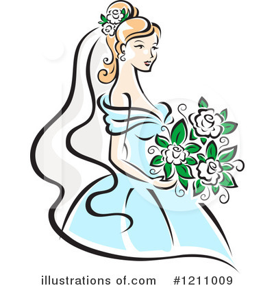bride clipart 1211009 illustration by vector tradition sm rh illustrationsof com bride clipart free bridal clip art free
