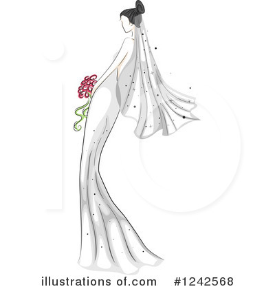 Wedding Clipart #1242568 by BNP Design Studio