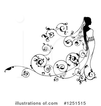 Flourish Clipart #1251515 by AtStockIllustration