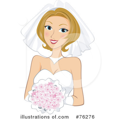 Bride Clipart #76276 - Illustration by BNP Design Studio