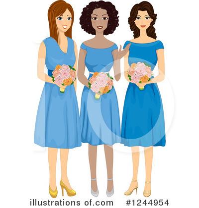 bridesmaid clipart 1244954 illustration by bnp design studio rh illustrationsof com bridesmaid clip art images bridesmaid clipart