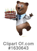 Brown Bear Clipart #1630643 by Julos
