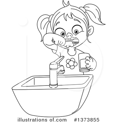 Royalty-Free (RF) Brushing Teeth Clipart Illustration by yayayoyo ...