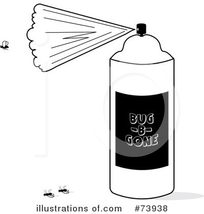 Bug Spray Clipart 73938 Illustration By Pams Clipart