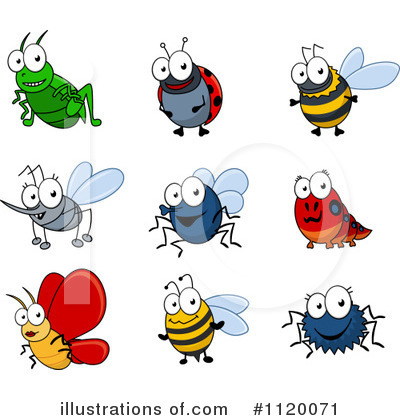 Bee Clipart #1120071 by Vector Tradition SM
