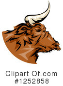 Bull Clipart #1252858 by BNP Design Studio