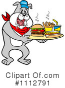 Bulldog Clipart #1112791 by LaffToon