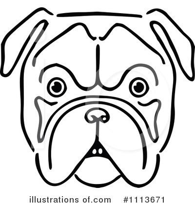 bulldog clipart 1113671 illustration by prawny vintage rh illustrationsof com bulldog clipart free Bulldog Cartoon Clip Art