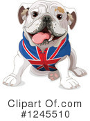 Bulldog Clipart #1245510 by Pushkin