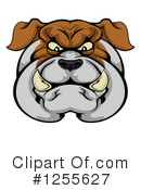Bulldog Clipart #1255627 by AtStockIllustration