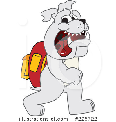 Bulldog Mascot Clipart 225722 Illustration By Toons4biz